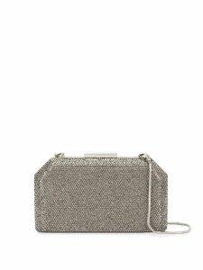 The Chic Initiative Malak clutch bag - Silver