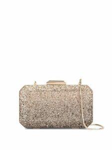 The Chic Initiative Diyala glitter clutch bag - Gold
