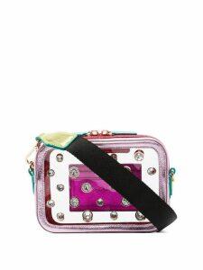 Sophia Webster Dina gem cross-body bag - Pink