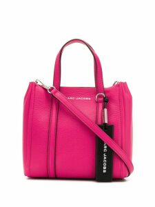 Marc Jacobs engraved logo tote - Pink