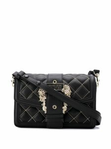 Versace Jeans Couture quilted shoulder bag - Black