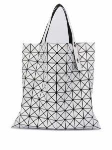 Bao Bao Issey Miyake triangle shopper tote bag - White
