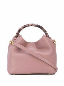 Elleme satchel bag - Purple