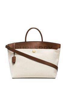 Burberry medium Society tote - Brown