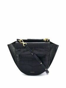 Wandler Hortensia croc mini bag - Blue