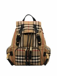 Burberry small Vintage Check backpack - Neutrals