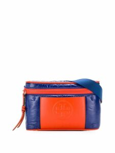 Tory Burch perry bombe panelled belt-bag - Blue