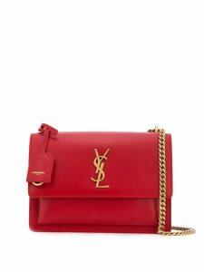 Saint Laurent Sunset cross-body bag - Red