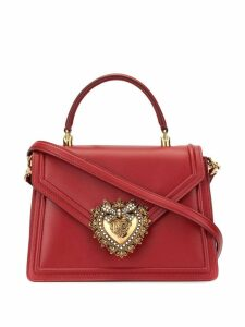 Dolce & Gabbana large Devotion shoulder bag - Red