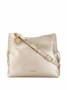 LIU JO charm shoulder bag - Pink