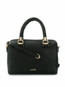 Liu Jo braided top handle tote - Black