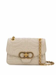 Salvatore Ferragamo quilted leather cross-body bag - Neutrals