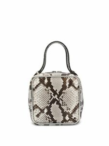 Alexander Wang snake print Halo bag - Grey