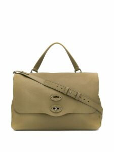 Zanellato foldover top tote - Brown