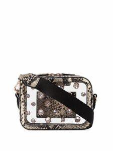 Sophia Webster Dina crystal-embellished cross-body bag - Neutrals