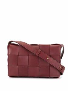 Bottega Veneta Cassette crossbody bag - Red