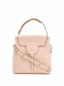 Tod's textured tote bag - Neutrals