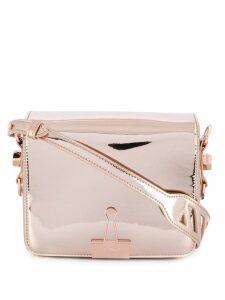 Off-White binder clip bag - Neutrals