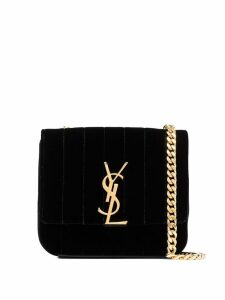 Saint Laurent small Vicky crossbody bag - Black