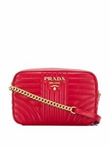 Prada Diagramme crossbody bag - Red