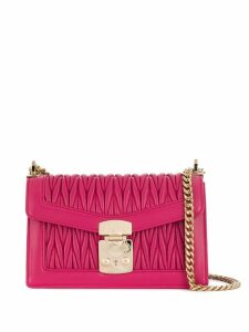 Miu Miu Miu Confidential Matelassé shoulder bag - Pink