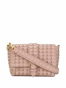 Red Valentino RED(V) Flower Puzzle shoulder bag - Pink