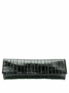 Giuseppe Zanotti textured clutch bag - Black