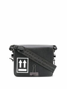 Off-White Binder Clip cross-body bag - Black