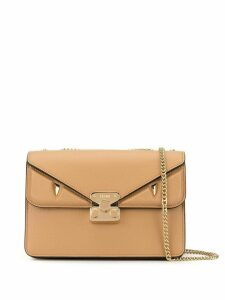 Fendi medium Bag Bugs crossbody bag - Brown