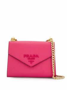Prada envelope shaped shoulder bag - Pink