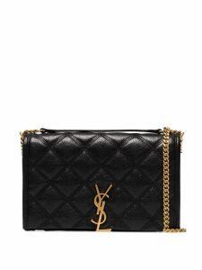 Saint Laurent Becky quilted shoulder bag - Black