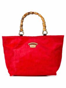 Sous Les Paves Honeymoon shoulder bag - Red