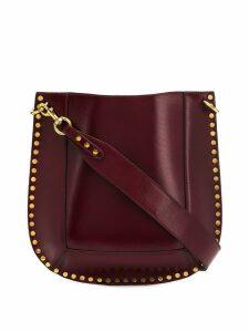 Isabel Marant studded shoulder bag - Red