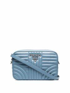 Prada Diagramme crossbody bag - Blue