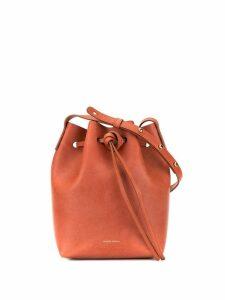 Mansur Gavriel mini bucket bag - Brown