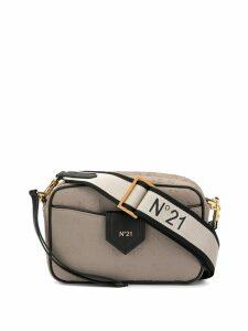 Nº21 monogram mini crossbody bag - Brown