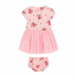 Notting Hill Rose Baby Woven Dress