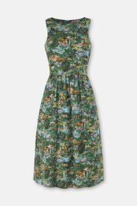 Artists View Sleeveless Dress