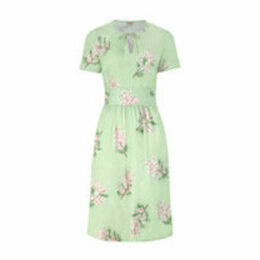 Mimosa Flower Tea Dress