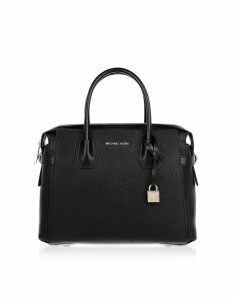 Michael Kors Designer Handbags, Mercer Belted Medium Satchel Bag