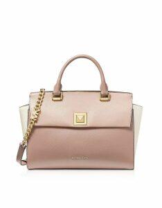 Michael Kors Designer Handbags, Sylvia Medium Top-Zip Satchel Bag