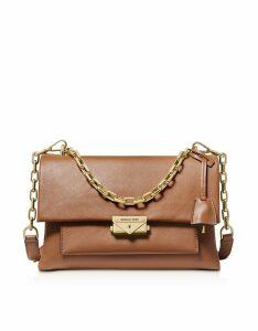 Michael Kors Designer Handbags, Acorn Cece Large Chain Shoulder Bag