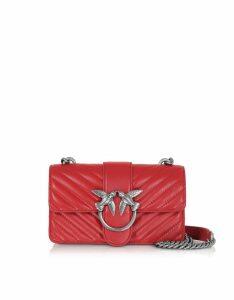 Pinko Designer Handbags, Mini Love Mix Crossbody Bag