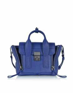 3.1 Phillip Lim Designer Handbags, Cobalt Pashli Mini Satchel