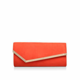 Miss Kg Hannah - Orange Clutch Bag