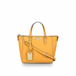 Carvela Fan Winged Tote - Mustard Yellow Tote Bag