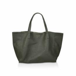 Kurt Geiger London Violet Horizontal Tote - Dark Green Tote Bag