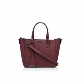 Carvela Fan Winged Tote - Wine Tote Bag
