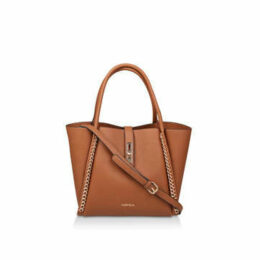 Carvela Floss Chain Detail Tote - Tan Chain Detail Tote Bag