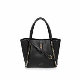 Carvela Floss Chain Detail Tote - Black Chain Detail Tote Bag